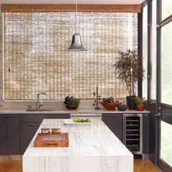 Kitchen Shades Images Of Remodeled Kitchens The Home Depot Premium Faux Wood