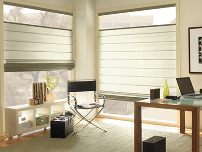 window coverings for living room affordable wall art treatments at the home depot roman natural shades