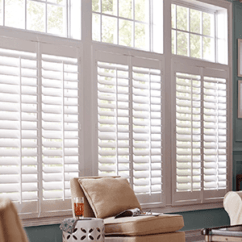 Blinds For Kitchen Windows Farmhouse Cabinets Window Treatments At The Home Depot Shutters