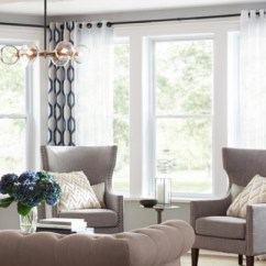 Window Treatments For Living Room Small Toy Storage Ideas The Home Depot