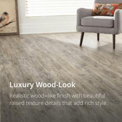 Kitchen Vinyl Flooring Sink Drain Strainer Floor Tiles Sheet Groutable Tile Handscraped