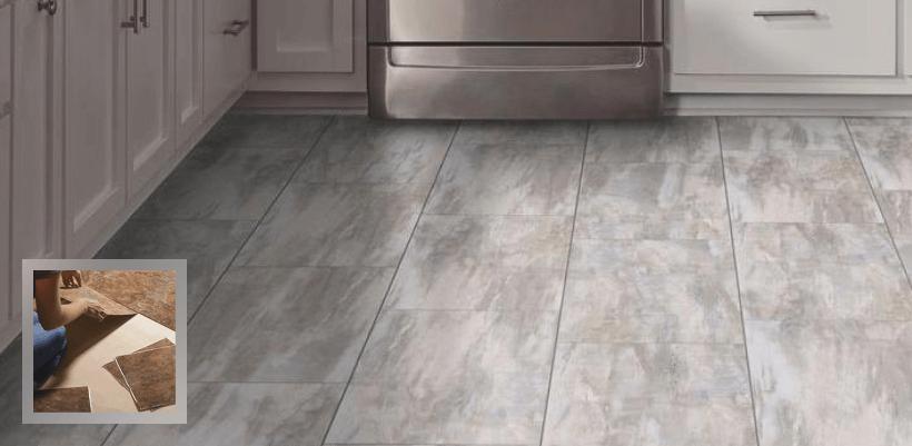 kitchen vinyl spoon flooring floor tiles sheet tile
