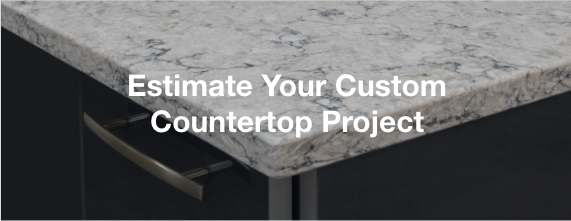 kitchen countertop cost pull out shelves countertops the home depot estimate your custom project