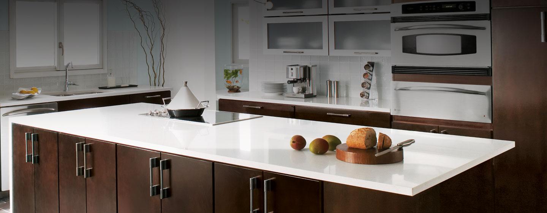 Kitchen Countertops Top View