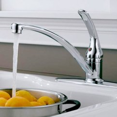 Kitchen Sink Faucet Cabinets Lowes Faucets At The Home Depot 1 Handle Standard