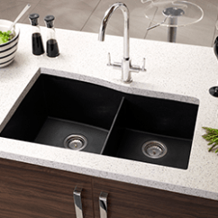 3 Hole Kitchen Faucet Mobile Home Cabinets For Sale Sinks At The Depot