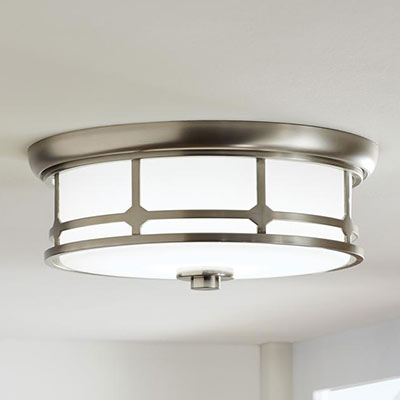 ceiling lighting at the