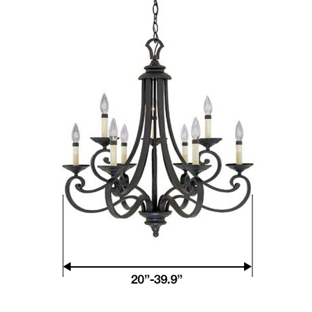 Medium Size Chandeliers