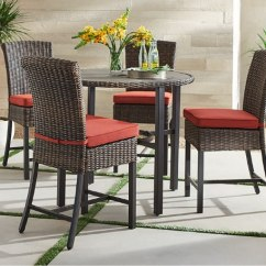 Bar Height Tables And Chairs Volcanic Hanging Chair Patio Dining Sets Furniture The Home Depot