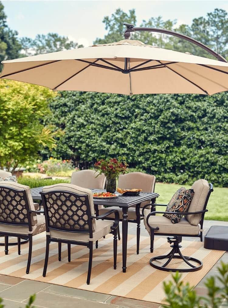 comfy outdoor chair black covers to hire patio furniture the home depot dining sets