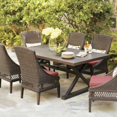 Woven Outdoor Chair Rocking Woodworking Plans Wicker Patio Furniture Sets The Home Depot Dining