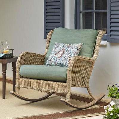 woven outdoor chair dining room covers storage wicker patio furniture sets the home depot shop chairs