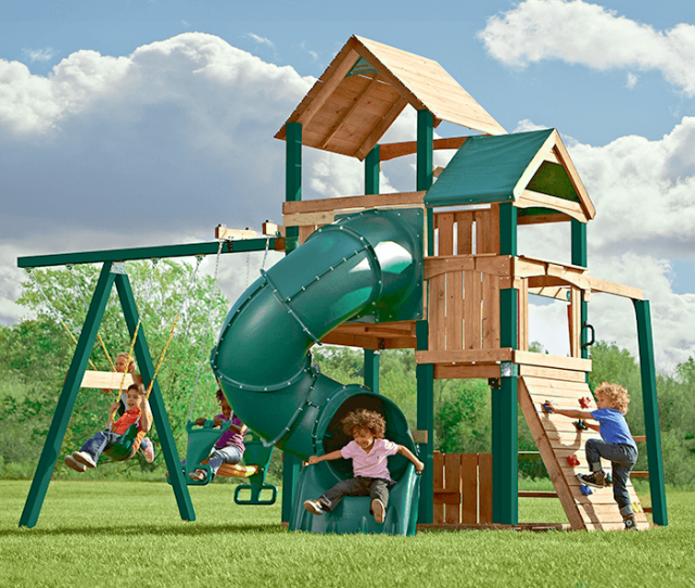 Go Outside And Play Playsets