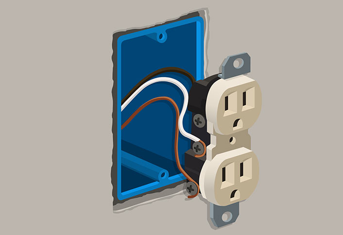 How To Wire An Electrical Socket 6 Steps Wikihow