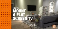 How to Mount a Flat Screen TV