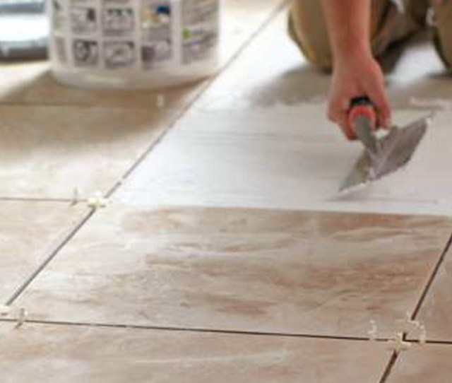 Grouting Is The Process Of Filling The Spaces In Between Tiles Most Options Come In Powder Form But Premixed Containers Are Available As Well
