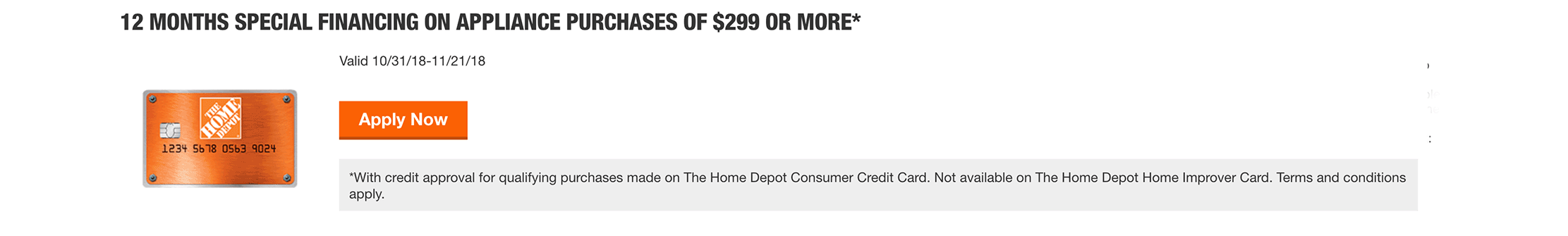 home depot financing kitchen remodel best hoods credit card offers - the