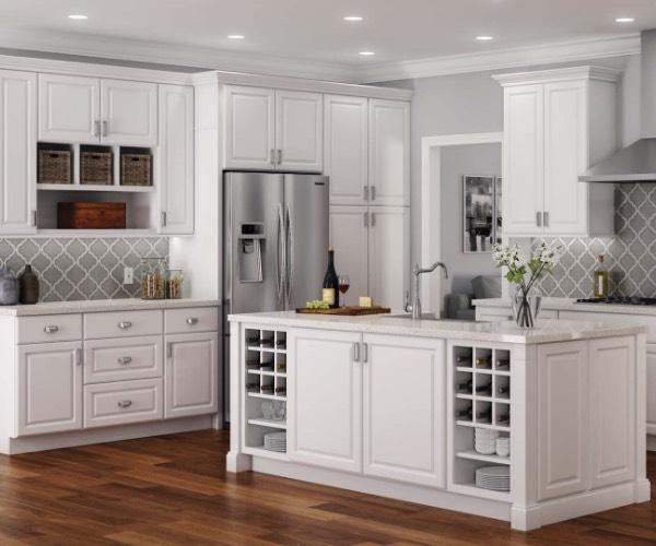 White Kitchen Cabinets Kitchen The Home Depot
