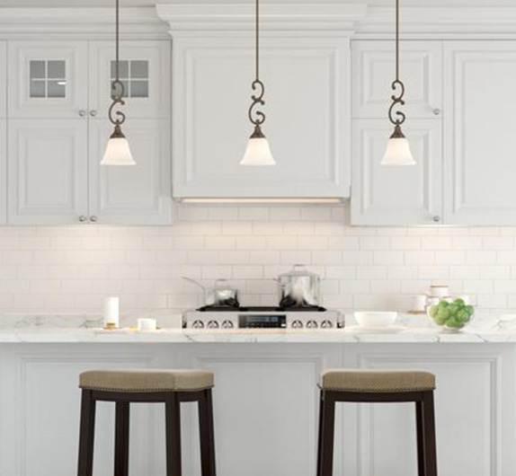 kitchen light pendants sage green cabinets pendant lights lighting the home depot by style classic