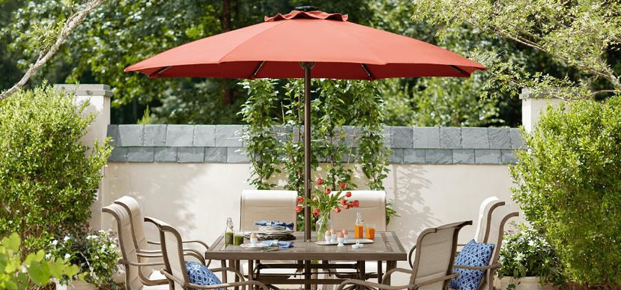 picnic table umbrella stand off 72