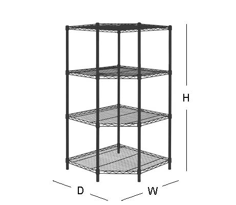 HDX 5 Shelf 72 in. H x 42 in W x 18 in. D Wire Unit in