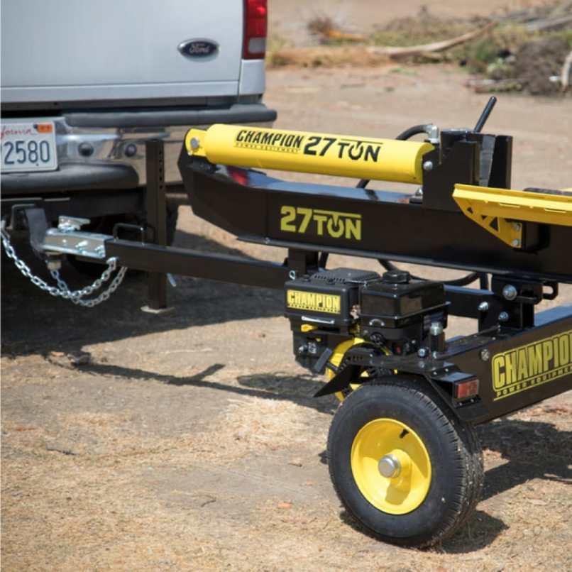 27 Ton 224 Cc Log Splitter 100424