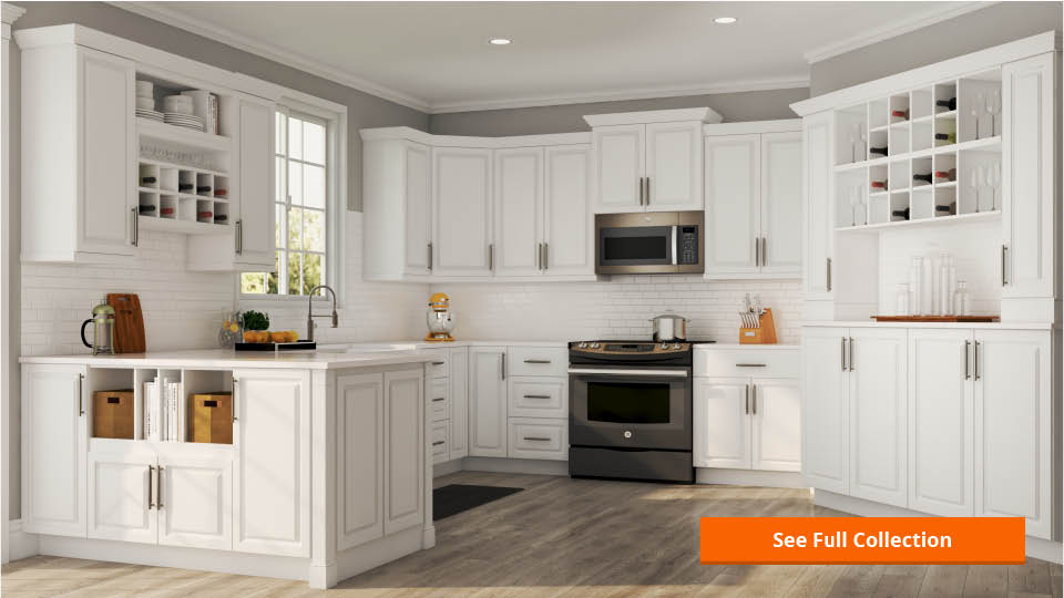 white corner kitchen cabinet refinishing cost hampton bay assembled 36 in x 34 5 24 blind base wall cabinets