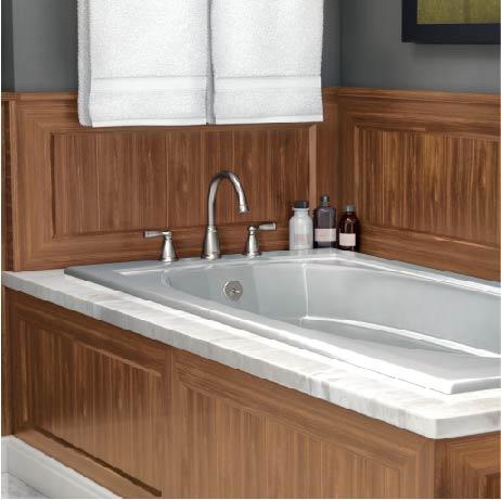 MOEN Banbury 2Handle DeckMount High Arc Roman Tub Faucet