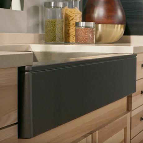 home depot kitchen sinks undermount table designs elkay premium quartz composite 33 in. single ...