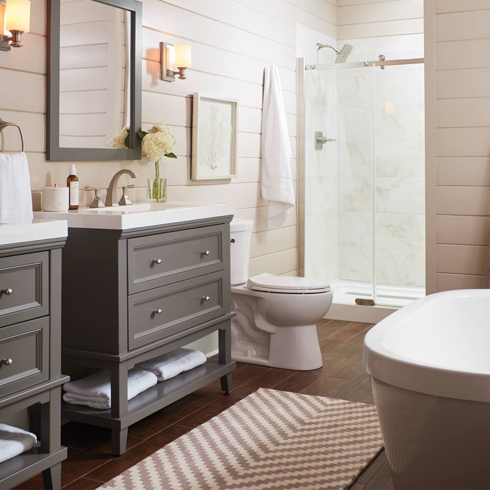 Cost To Remodel A Bathroom The Home Depot