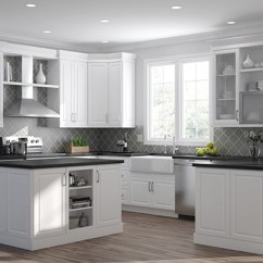 Kitchen Cabinets White Moen Touchless Faucet Color Gallery At The Home Depot Elgin 10x10 Layout Starts 2 187