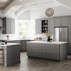 Gray Kitchen Cabinets Kitchens Of India Color Gallery At The Home Depot Melvern Heron 10x10 Layout Starts 2 420
