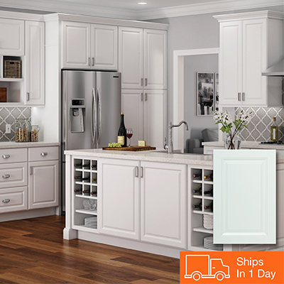 kitchen cabinets color shelving ideas gallery at the home depot white