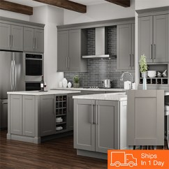 Grey Kitchen Cabinets Best Remodels Color Gallery At The Home Depot Gray