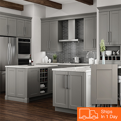gray kitchen cabinets countertop color gallery at the home depot