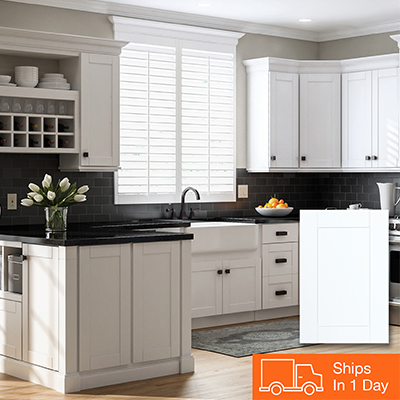kitchen cabinets white barn house color gallery at the home depot