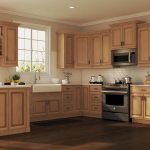 Hampton Base Kitchen Cabinets In Medium Oak Kitchen The