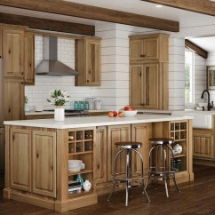 Kitchen Cabnits Hutch For Hampton Wall Cabinets In Natural Hickory The