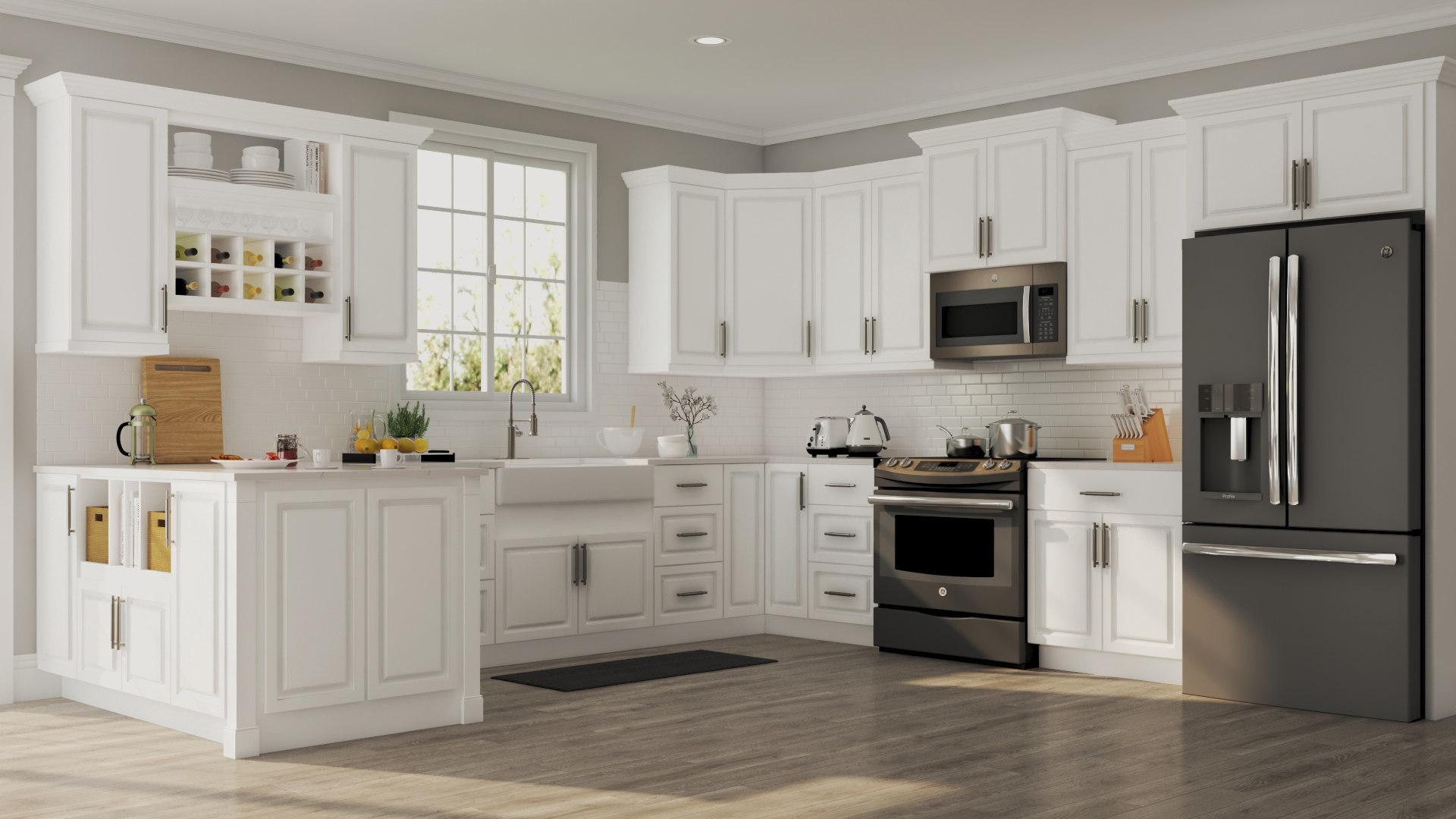 Hampton Cabinet Accessories in White  Kitchen  The Home