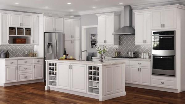 Hampton Cabinet Accessories In White Kitchen Home