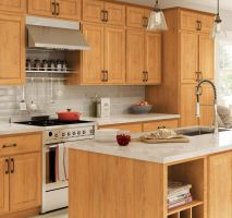 Madison Pantry Cabinets in Medium Oak – Kitchen – The Home ...