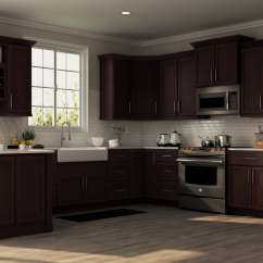 Shaker Kitchen Cabinets Stainless Steel Outdoor Specialty In Java The Home Depot
