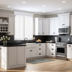 Shaker Kitchen Cabinets Used Appliances Pantry In White  The Home Depot