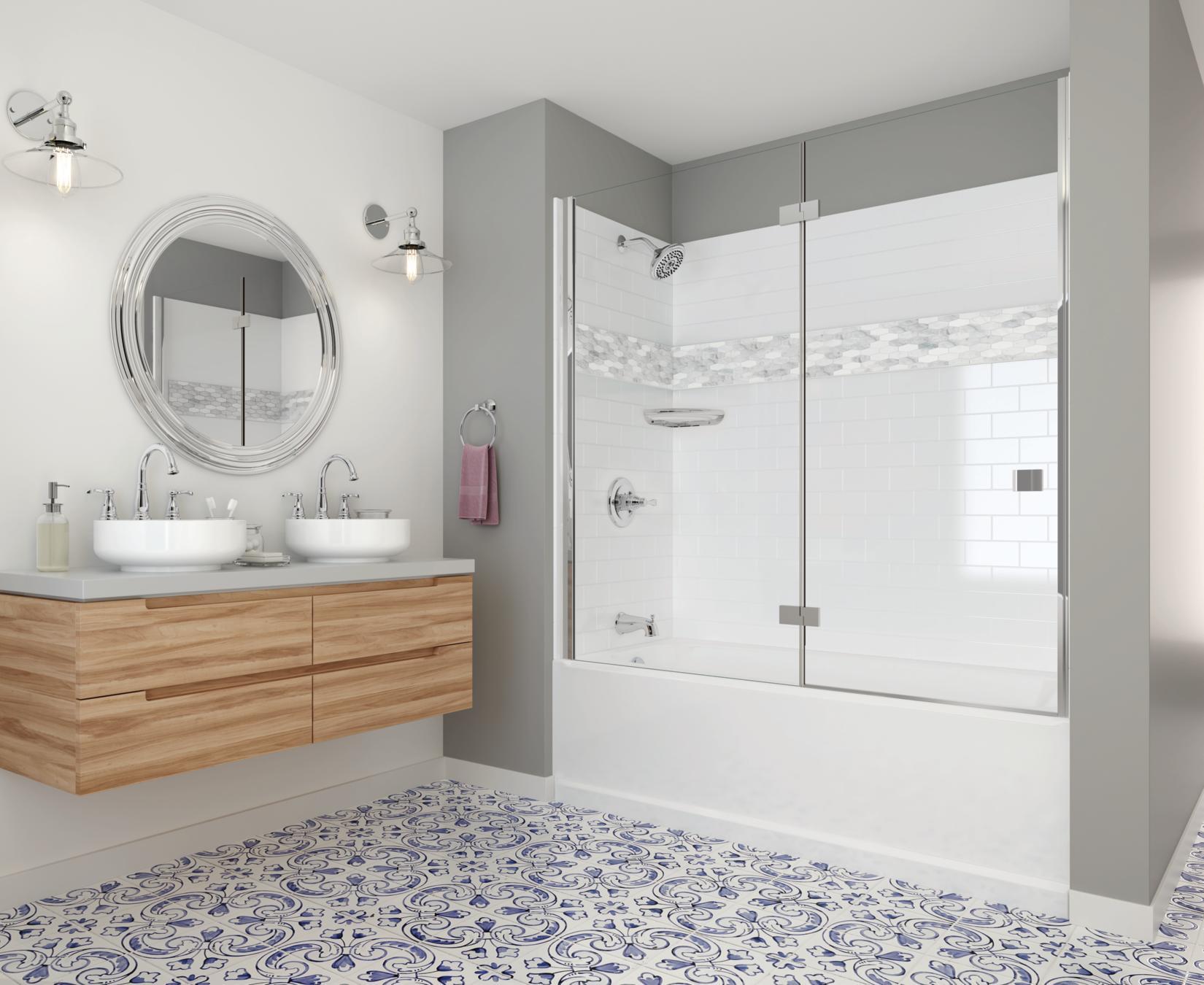 Delta UPstile SemiCustomizable Shower Collection  Bath