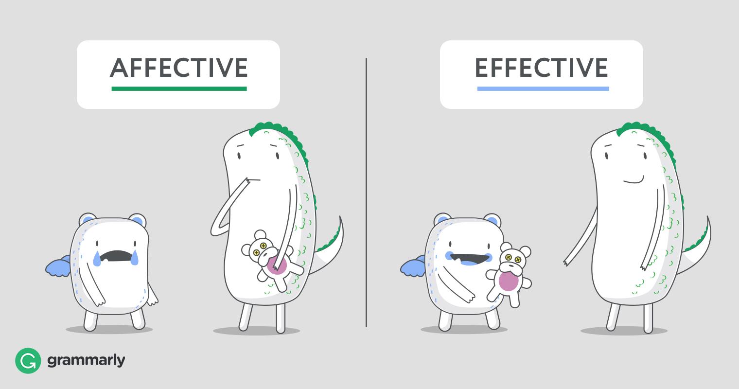 Affective Vs Effective Don T Confuse Them