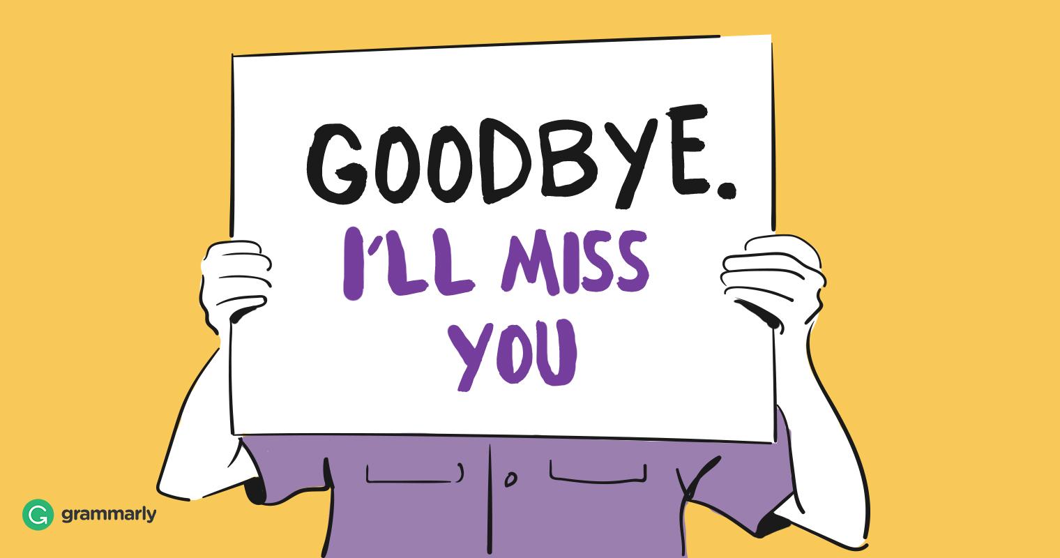 Saying You Cartoon And Thank Bye Good