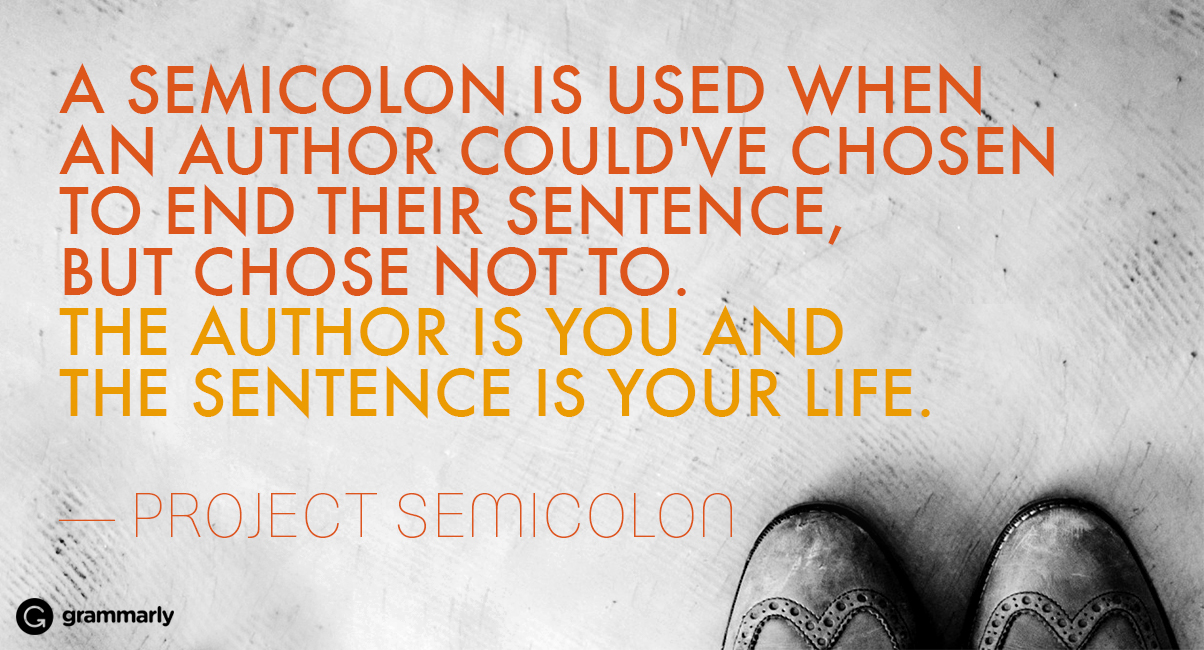 Why a Semicolon Tattoo Is the Most Beautiful Tattoo