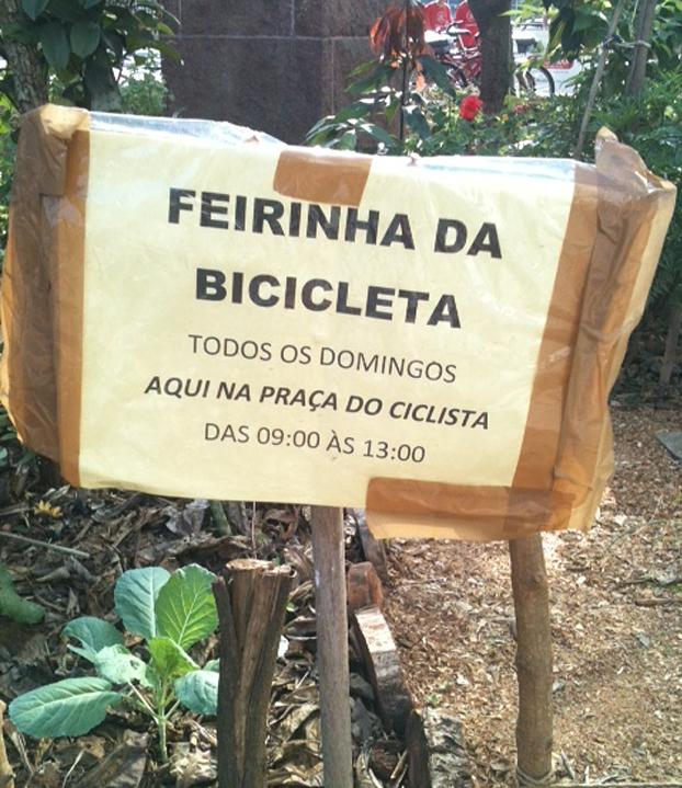 Horta do Ciclista em São Paulo.