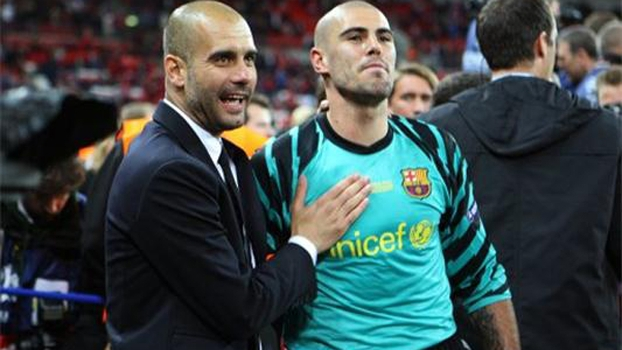 Guardiola gostaria de voltar a trabalhar com Valdés