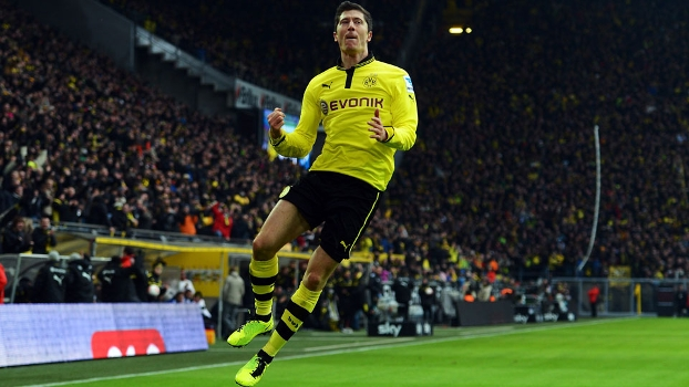 Robert Lewandowski está de saída do Borussia Dortmund